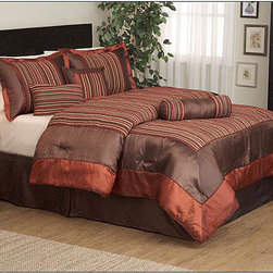 None - Irena 7-piece Chenille Comforter Set - Update your bedroom with this sophisticated chenille comforter set for a look that will please both men and women. This luxurious bedding set comes with seven helpful pieces that add rich color and elegant style as you snooze the night away.