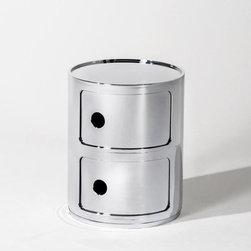 Kartell - Precious Componibili, Round 2-Unit | Kartell - Design by Anna Castelli Ferrieri.