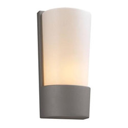 PLC Lighting - PLC Lighting Outdoor Lighting. 1 Light Outdoor Wall Sconce Silver Finish Matte O - Shop for Lighting & Fans at The Home Depot. Contemporary Beauty is a line of quality new age fixtures that appeal to your more affluent side. This line is sure to universally please by offering fixtures with halogen, CFL, or standard incandescent bulbs. With a selection that ranges from unique wall sconces to luxuriant chandeliers, available in the lamp options you desire, Contemporary Beauty has the variety and style to ensure you will find the perfect fixture to showcase the allure of any room.