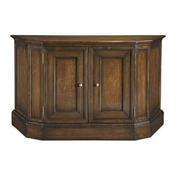 EuroLux Home - Large New Serving Cabinet Cherry Veneer - Product Details