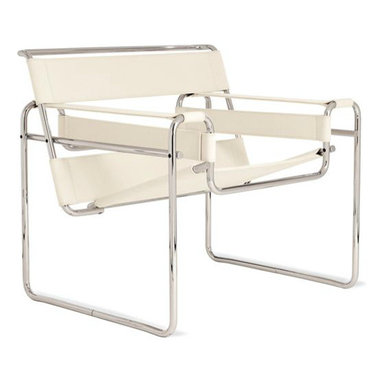 Wassily® Chair, Canvas - Marcel Breuer's Wassily Chair is an instant modern update for your room. It's breathtaking, don't you think?