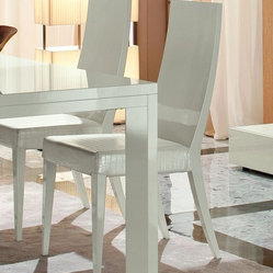 Rossetto Furniture - Nightfly White Chairs (Set of 2) - R413105000068