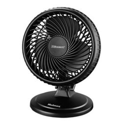 "Jarden Home Environment - H Blizzard 7"" Table Fan - The Holmes HAOF87BLZ-UC Lil Blizzard Oscillating Table Fan delivers a powerful airflow and is great for providing airflow for small rooms and personal spaces. The product is designed for use on a table is great for areas including office spaces  bedrooms  or dorm rooms.   Blizzard motor and blade combination delivers a powerful airflow; Small profile is great for table top use; Multiple speeds settings allow you to control the amount of airflow; Oscillation for wide area coverage; Tilt adjustable head allows you to direct airflow where you want it.  This item cannot be shipped to APO/FPO addresses. Please accept our apologies."