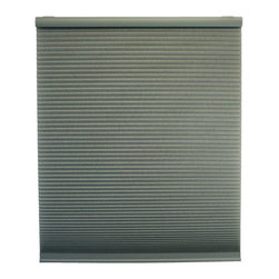 None - Cordless Light Filtering Moss Cellular Shades - Sleep in without worry that the sun will roust you from your cozy slumber with these cordless cellular shades. These energy-saving shades come in an attractive moss green,and you can select the length you need to perfectly fit your window.