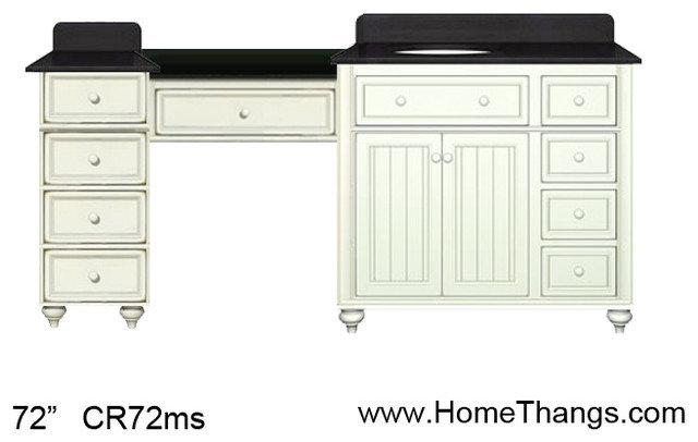 Traditional Bedroom & Makeup Vanities by HomeThangs