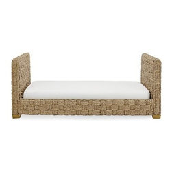 Sorrento Daybed - This daybed from Williams-Sonoma Home has me fantasizing about sipping limoncello while gazing out at the sea... but I suppose I would settle for my backyard.