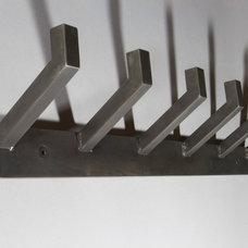 Modern Wall Hooks by Majer Metal Works