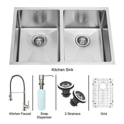 Kitchen Sinks: Find Farmhouse Sink and Kitchen Sink Designs Online