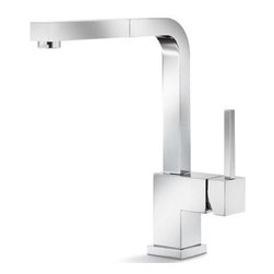 Faucet - Blanco Premium Kitchen Faucet, Pull-Out Spout, Stainless Steel Finish
