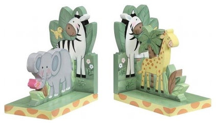 Contemporary Bookends by CLUTTER FREE KIDS