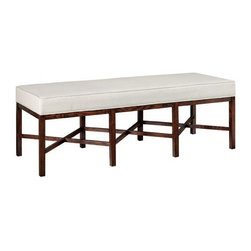 Lombard Long Bench - This is a very pretty bench for such a great price. Martha wouldn't put her name on it if it weren't good, right?