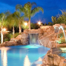 Tropical Swimming Pools And Spas by Dolphin Waterslides