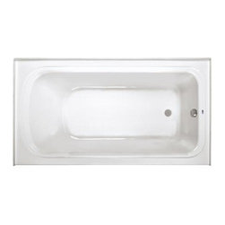 """ProFlo - ProFlo PFS6636LSKWH White  66"""" x 36"""" Alcove Soaking Bath Tub with - 66"""" x 36"""" Alcove Soaking Bath Tub with Skirt and Left Hand DrainThe PROFLO brand represents plumbing products that are designed and manufactured for """"Exceeding Your Expectations."""" From faucets, fixtures, accessories and bathing products to repair products, pumps and behind-the-wall products, you can count on PROFLO to deliver style, quality and value.Durable easy-care acrylic constructionTextured slip-resistant bottomIntegral tile flangePre-leveled base, for easy installation66"""" length overall36"""" width overall19 3/4"""" height overall40 gallon operating capacity60 gallon total capacity to overflow"""