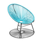 Acapulco Patio Chair, Glacier Blue