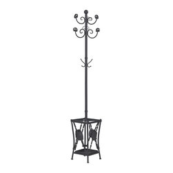 Innistone Coat Rack With Umbrella Stand - *Dimensions: 12L x 12W x 79H
