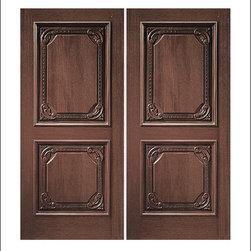 Carved and Mansion Entry Doors Model # 610 - Our Carved and Mansion doors are hand carved by master craftsman.  They will certainly add to the wow factor of any entrance exterior or interior.  The doors are Mahogany and can be stained and finished in a variety of colors to complement your homes beauty.  You may also like our International collection which is inspired by world design.