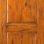 """Single Door Exterior Knotty Alder, Southwest Home - SKU#SW-66_1BrandAAWDoor TypeExteriorManufacturer CollectionWestern-Santa Fe Entry DoorsDoor ModelDoor MaterialWoodWoodgrainKnotty AlderVeneerPrice670Door Size Options30"""" x 80"""" (2'-6"""" x 6'-8"""")  $032"""" x 80"""" (2'-8"""" x 6'-8"""")  $036"""" x 80"""" (3'-0"""" x 6'-8"""")  +$2042"""" x 80"""" (3'-6"""" x 6'-8"""")  +$12036"""" x 84"""" (3'-0"""" x 7'-0"""")  +$12030"""" x 96"""" (2'-6"""" x 8'-0"""")  +$27032"""" x 96"""" (2'-8"""" x 8'-0"""")  +$27036"""" x 96"""" (3'-0"""" x 8'-0"""")  +$28042"""" x 96"""" (3'-6"""" x 8'-0"""")  +$480Core TypeSolidDoor StyleRusticDoor Lite StyleDoor Panel StyleHome Style MatchingSouthwest , Log , Pueblo , WesternDoor ConstructionTrue Stile and RailPrehanging OptionsPrehung , SlabPrehung ConfigurationSingle DoorDoor Thickness (Inches)1.75Glass Thickness (Inches)Glass TypeGlass CamingGlass FeaturesGlass StyleGlass TextureGlass ObscurityDoor FeaturesDoor ApprovalsDoor FinishesDoor AccessoriesWeight (lbs)340Crating Size25"""" (w)x 108"""" (l)x 52"""" (h)Lead TimeSlab Doors: 7 daysPrehung:14 daysPrefinished, PreHung:21 daysWarranty1 Year Limited Manufacturer WarrantyHere you can download warranty PDF document."""