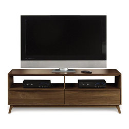 "Copeland Furniture - Copeland Furniture Catalina TV Stand 66"" 5-CAL-50-04 - Catalina media and occasional pieces include two TV stands (66"" or 53"") designed with wire management to organize your home entertainment equipment that is complemented by optional bookcases (sold seperately).'"