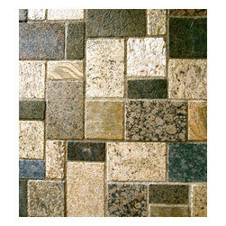 Realstone Recycling - Realstone Recycling Granite Pavers - Attention DIYers! Now you can put your own stamp on a patio, driveway, walkway or lanai. These elegant pavers are super thick so they can be laid directly on top of concrete to install. You're only limited by your imagination!