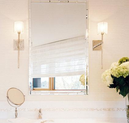Modern Bathroom Mirrors by Jamie Herzlinger