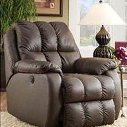Recline Designs - General Leather Chaise Recliner - 2125 940-19 - General Collection Chaise Recliner