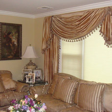 Traditional Curtains by J.T. Designs and Decorating