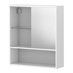IKEA of Sweden - FULLEN Mirror cabinet - Mirror cabinet, white