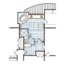 Modern Floor Plan by Thomas Buckborough & Associates