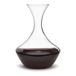 Holmegaard - Perfection Decanter - Holmegaard - There is more to enjoy a full-bodied glass of wine, than just buying a great vintage. An adequate temperature, the suitable glass and right decanting processes belong to the perfect serving of a wine. This is the reason why experts suggest using a suitable carafe, in order to set the fine aroma – even of a young wine – free. A carafe that will surely achieve in this is the Perfection by Holmegaard.