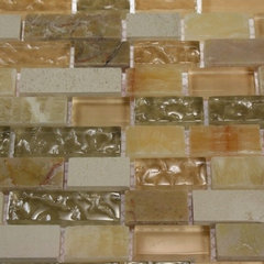 contemporary bathroom tile by Glass Tile Store