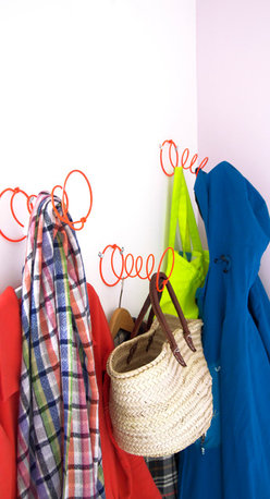 Fab Design Noster (Set of Three) - Noster is where you can hang up clothes, bags, belts, baskets, hats and piles of anything and everything on the same hook. It's amazing!