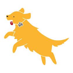 My Wonderful Walls - Labrador Dog Stencil for Painting - - 2-piece labrador stencil
