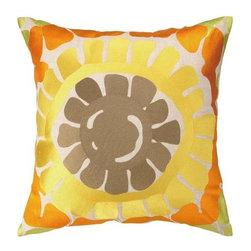 """Trina Turk La Jolla Embroidered Pillow - 20 x 20 - Trina Turk La Jolla embroidered pillow - 20"""" x 20"""""""