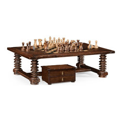 Jonathan Charles - Jonathan Charles Games Table Distressed - Product Details