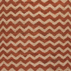 Jaipur Rugs - Naturals Textured Hemp Ivory/Red Area Rug (2 x 3) - Patterns created by both texture and color make these rugs unique. Constructed of 100% hemp they are durable and made to last.