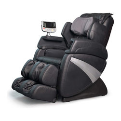 Cozzia - Cozzia Shiatsumassage Zero Gravity Chair - Black - This Cozzia 363E Shiatsu Massage Recliner features the latest massage chair features to target your neck, shoulders, back, arms, seat, thighs, calves, and feet.Thigh and shoulder massageLumbar heat Vibration seat massageZero gravity position6 automated & 3 partial body programsShoulder Height Setting Motorized foot extensionAir Massage in feet, arms, calves, seat, back and neck LCD display controller with mini wireless controllerS Curve back massaging trackStretching program15/30min timer shut offWeight limit 350 pounds