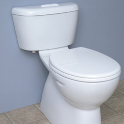 Bathroom Design: Caroma Toilets - Sydney Low Profile 270 Easy Height Round Front Plus