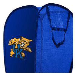 The Northwest Company - NCAA Kentucky Wildcats Pop-Up Hamper College Storage Basket - Features: