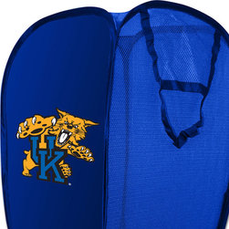 The Northwest Company - NCAA Kentucky Wildcats Pop-Up Hamper College Storage Basket - FEATURES: