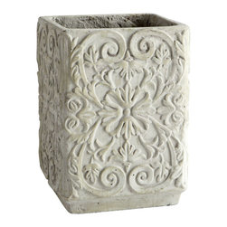 Cyan Design - Claudia Planter - Small - Small claudia planter - sandstone
