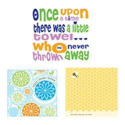 People Towels - PeopleTowels 3 Day Supply, Bee Inspired Set - Our planet is full of inspiration. From the hard working bees to the blooming flowers, you want to do what you can to protect them. Start by using these organic cotton towels instead of paper towels. Their colorful images and clever words motivate you to keep making ecofriendly choices.
