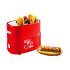 Nostalgia Electrics - Nostalgia Electrics Coca-Cola Series Pop-Up Hot Dog Toaster - Make a meal with ease with this pop-up hot dog toaster. Featuring Coca-Cola advertising on the side,this toaster holds two hot dogs and buns for a quick bite to eat. Adustable heat controls and a removable drip tray makes for quick cleanup.