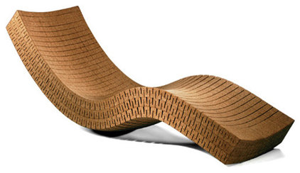 Outdoor furniture for Antigua wicker chaise