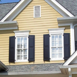 Wood Shutters - Raised panel - Southern Shutter Company