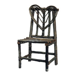 unknown - Consigned: Rustic Twig Doll Chair - Vintage rustic twig doll chair. Southern Louisiana. Good condition .