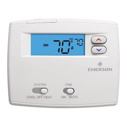 "WHITE RODGERS - PROGRAMMABLE DIGITAL THERMOSTAT 1F86-0244 - | White Rodgers 1F86-0244 | Blue 2"" display 