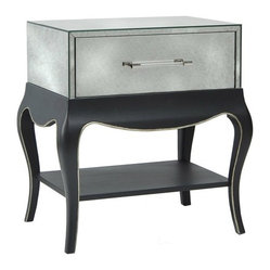 Belle Meade Paige Graphite Lamp Table