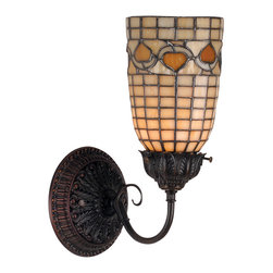 "Meyda Lighting - Meyda Lighting 74052 5""W Tiffany Acorn Wall Sconce - Meyda Lighting 74052 5""W Tiffany Acorn Wall Sconce"