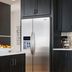 KitchenAid® 23 Cu. Ft. Counter-Depth Side-by-Side Refrigerator, Architect® Serie - KitchenAid® 23 Cu. Ft. Counter-Depth Side-by-Side Refrigerator, Architect® Series II