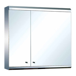 The Renovators Supply - Medicine Cabinets Bright Stainless Steel Double Medicine Cabinet | 13522 ...